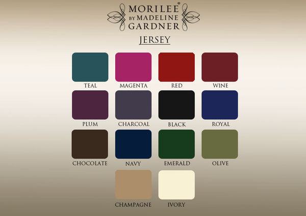 Jersey Color Card by Morilee