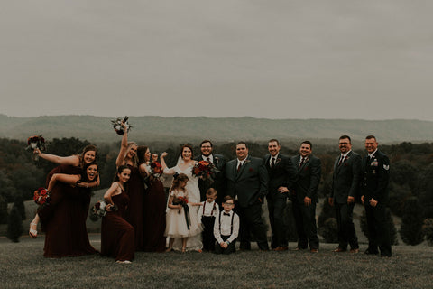 Andrew and Kaleigh Branham's Wedding Party! 10-14-17