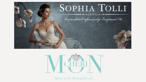 Sophia Tolli - an Intricately Designed Wedding Gown