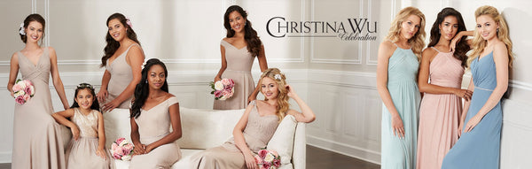 Christina Wu Celebration Line, Bridesmaids Dresses