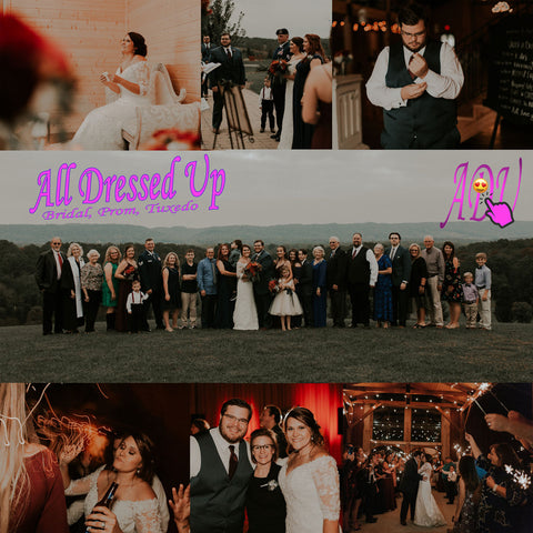 Andrew and Kaleigh Branham w/All Dressed Up, Chattanooga, TN | Photos by Christan C. George Photography