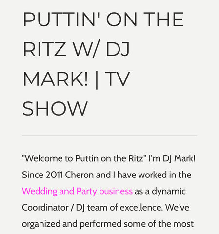 Puttin' On The Ritz w/ DJ Mark!