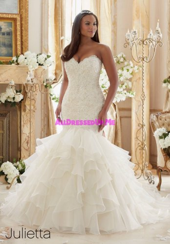 Morilee Julietta Wedding Gown - 3201 Trumpet/Curvy