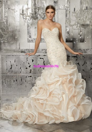 Morilee Wedding Gown - Mirjana 8189 Mermaid/Hourglass