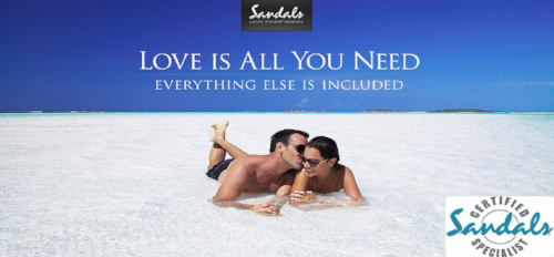 Sandals Honeymoon Resorts - Click HERE, Start Dreaming!