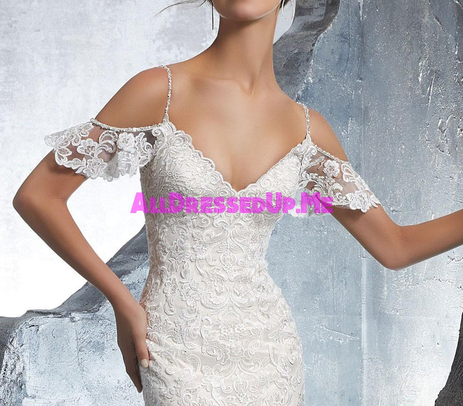 ML Accessories - 11285 - All Dressed Up, Bridal Cap Sleeves