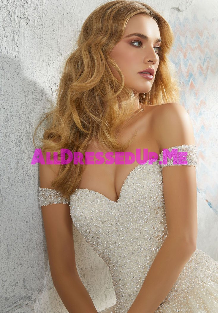 ML Accessories - 11293 - All Dressed Up, Bridal Cap Sleeves