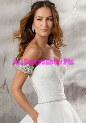 ML Accessories - 11295 - All Dressed Up, Bridal Cap Sleeves