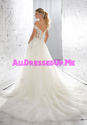 ML Accessories - 11296 - All Dressed Up, Bridal Overskirt