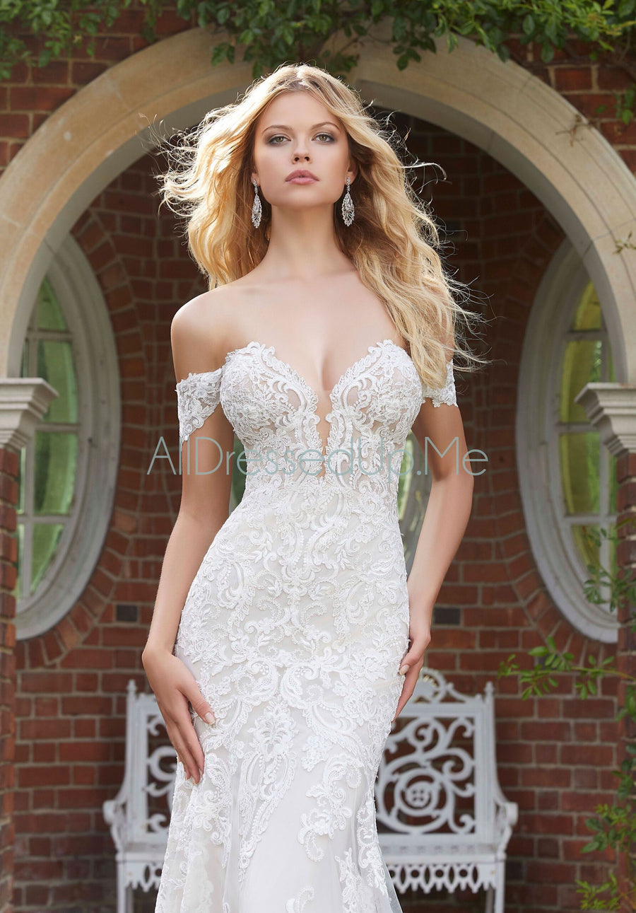 ML Accessories - 11302 - All Dressed Up, Bridal Cap Sleeves