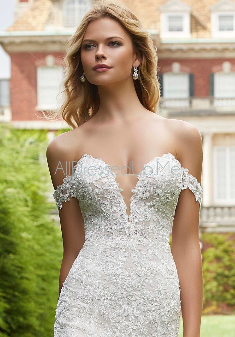 ML Accessories - 11303 - All Dressed Up, Bridal Cap Sleeves