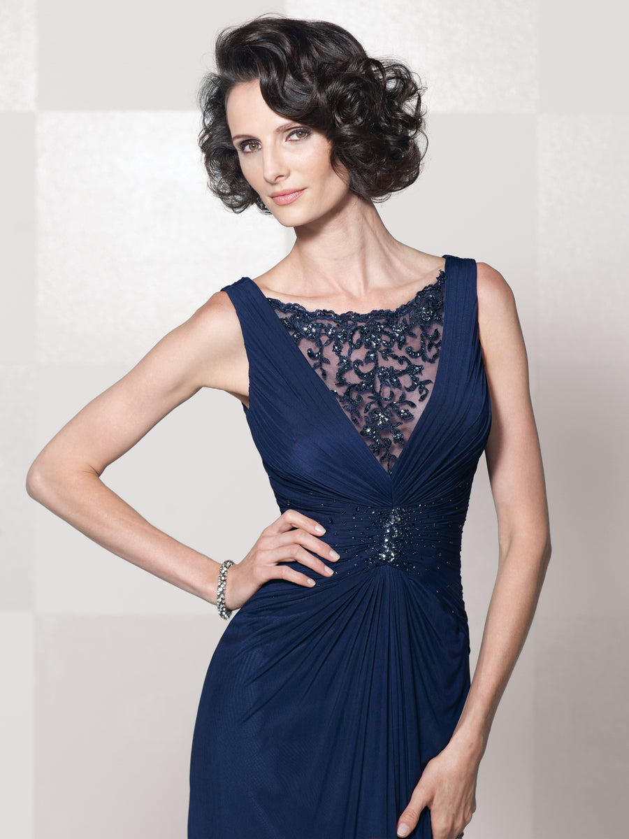 Last Dress In Stock; Size: 16, Color: Navy - Cameron Blake - 114672