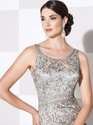 Last 2 Dresses In Stock; Both Size: 14, Colors: Jade & Navy Blue - Cameron Blake - 115604