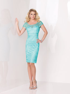 Last Dress In Stock; Size: 14, Color: Dark Mint - Social Occasions - 115869