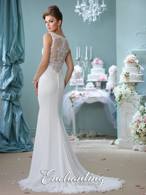 Last Dress In Stock; Size: 14, Color: Ivory - Enchanting - 116143 - All Dressed Up - Bridal Prom Tuxedo - 14 - Wedding Gowns Dresses Chattanooga Hixson Shops Boutiques Tennessee TN Georgia GA MSRP Lowest Prices Sale Discount