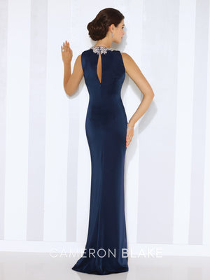 Last Dress In Stock; Size: 10, Color: Eggplant - Cameron Blake - 116659