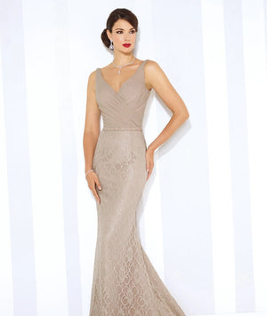 Last Dress In Stock; Size: 14, Color: Oyster - Cameron Blake - 116668