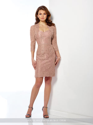 Last Dress In Stock; Size: 14, Color: Rose Quartz - Social Occasions - 116845