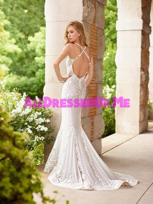 Last Dress In Stock; Size: 8, Color: Ivory - Enchanting - 118152 - Mon Cheri - 8 - Wedding Gowns Dresses Chattanooga Hixson Shops Boutiques Tennessee TN Georgia GA MSRP Lowest Prices Sale Discount