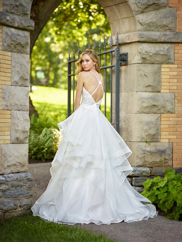 Last Dress In Stock; Size: 8, Color: Ivory - Enchanting - 118156 - All Dressed Up - Bridal Prom Tuxedo - 8 - Wedding Gowns Dresses Chattanooga Hixson Shops Boutiques Tennessee TN Georgia GA MSRP Lowest Prices Sale Discount