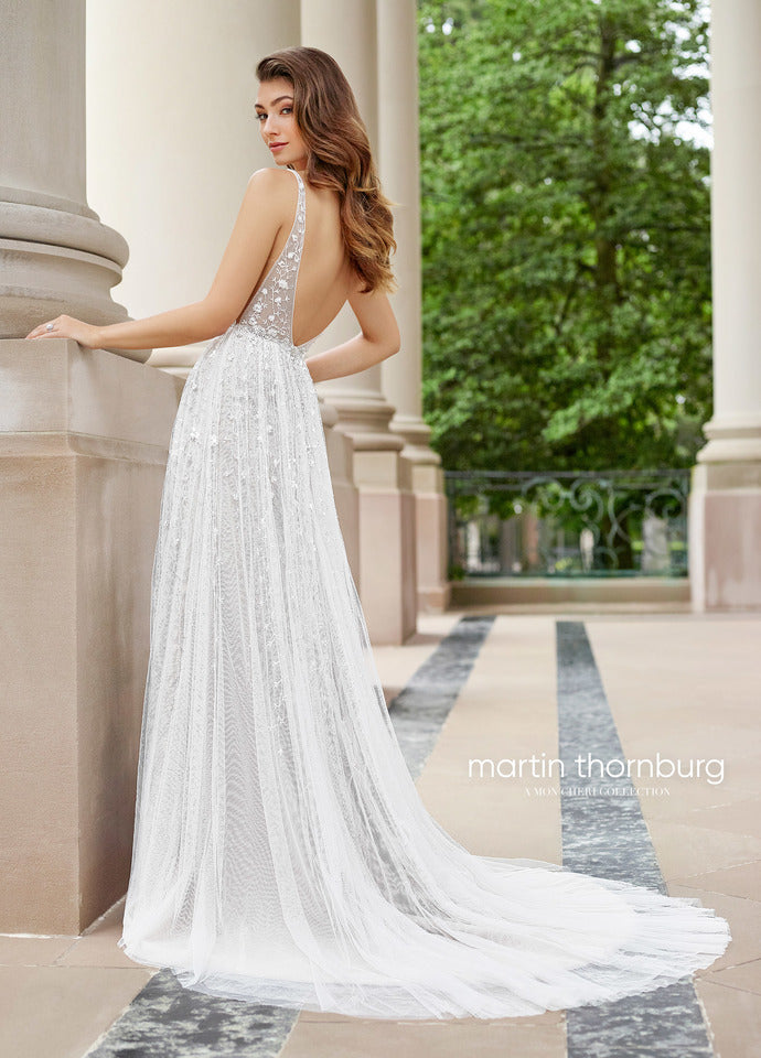 Last Dress In Stock; Size: 10, Color: Ivory/Champagne - Martin Thornburg - Stanza - 118254 - All Dressed Up - Bridal Prom Tuxedo - 10 - Wedding Gowns Dresses Chattanooga Hixson Shops Boutiques Tennessee TN Georgia GA MSRP Lowest Prices Sale Discount