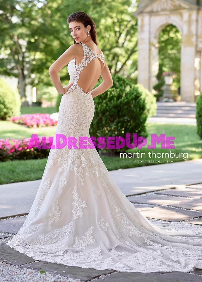 Martin Thornburg - Allegro - 118255 - All Dressed Up, Bridal Gown - Mon Cheri - - Wedding Gowns Dresses Chattanooga Hixson Shops Boutiques Tennessee TN Georgia GA MSRP Lowest Prices Sale Discount