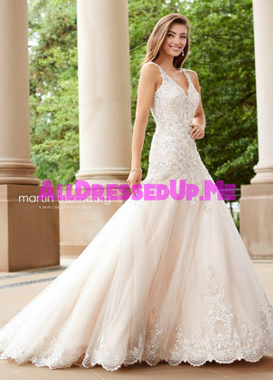 Martin Thornburg - Minuet - 118260 - 118260W - All Dressed Up, Bridal Gown - Mon Cheri - - Wedding Gowns Dresses Chattanooga Hixson Shops Boutiques Tennessee TN Georgia GA MSRP Lowest Prices Sale Discount