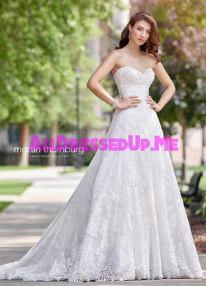 Martin Thornburg - Arabesque - 118269 - 118269W - All Dressed Up, Bridal Gown - Mon Cheri - - Wedding Gowns Dresses Chattanooga Hixson Shops Boutiques Tennessee TN Georgia GA MSRP Lowest Prices Sale Discount