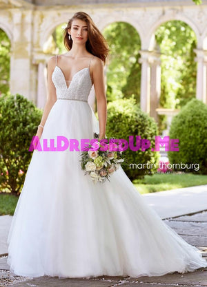 Martin Thornburg - Musette - 118273 - 118273W - All Dressed Up, Bridal Gown - Mon Cheri - - Wedding Gowns Dresses Chattanooga Hixson Shops Boutiques Tennessee TN Georgia GA MSRP Lowest Prices Sale Discount