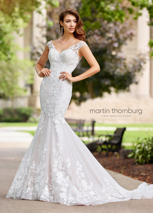 Last Dress In Stock; Size: 8, Color: Ivory - Martin Thornburg - Serenade - 118276 - All Dressed Up - Bridal Prom Tuxedo - 8 - Wedding Gowns Dresses Chattanooga Hixson Shops Boutiques Tennessee TN Georgia GA MSRP Lowest Prices Sale Discount