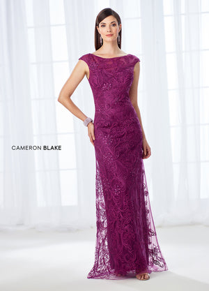 Last Dress In Stock; Size: 12, Color: Pink/Gray - Cameron Blake - 118676