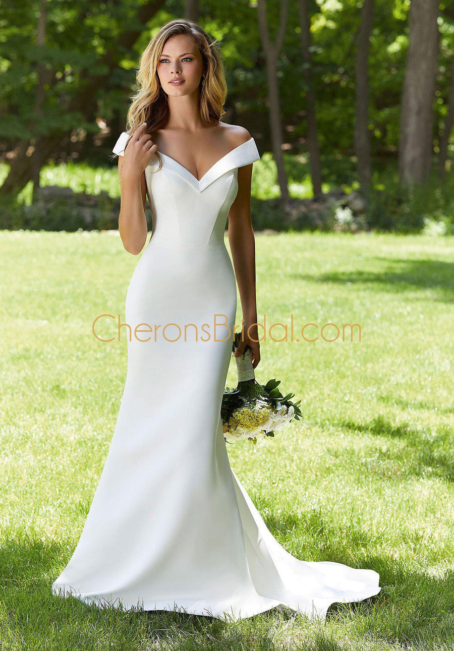 The Other White Dress - 12105 - Berkeley - Cheron's Bridal, Wedding - Morilee - - Wedding Gowns Dresses Chattanooga Hixson Shops Boutiques Tennessee TN Georgia GA MSRP Lowest Prices Sale Discount