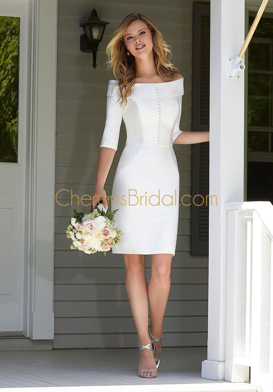 The Other White Dress - 12106 - Blanche - Cheron's Bridal, Wedding - Morilee - - Wedding Gowns Dresses Chattanooga Hixson Shops Boutiques Tennessee TN Georgia GA MSRP Lowest Prices Sale Discount