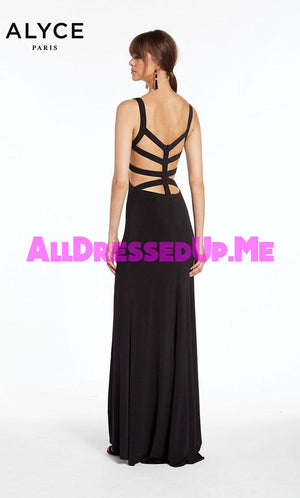 Alyce Paris - 1378 - All Dressed Up, Prom/Party Dress - - Dresses Two Piece Cut Out Sweetheart Halter Low Back High Neck Print Beaded Chiffon Jersey Fitted Sexy Satin Lace Jeweled Sparkle Shimmer Sleeveless Stunning Gorgeous Modest See Through Transparent Glitter Special Occasions Event Chattanooga Hixson Shops Boutiques Tennessee TN Georgia GA MSRP Lowest Prices Sale Discount