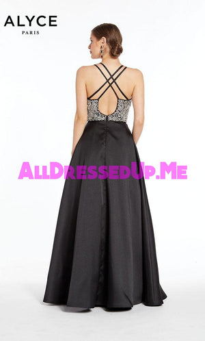 Alyce Paris - 1406 - All Dressed Up, Prom/Party Dress - - Dresses Two Piece Cut Out Sweetheart Halter Low Back High Neck Print Beaded Chiffon Jersey Fitted Sexy Satin Lace Jeweled Sparkle Shimmer Sleeveless Stunning Gorgeous Modest See Through Transparent Glitter Special Occasions Event Chattanooga Hixson Shops Boutiques Tennessee TN Georgia GA MSRP Lowest Prices Sale Discount