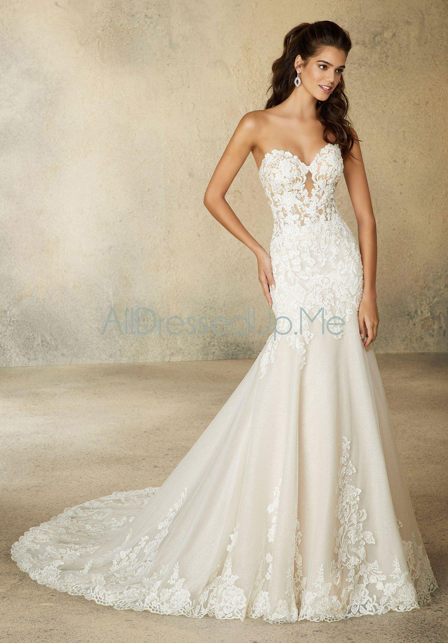 Morilee - Roxanne - 2073 - All Dressed Up, Bridal Gown - Morilee - - Wedding Gowns Dresses Chattanooga Hixson Shops Boutiques Tennessee TN Georgia GA MSRP Lowest Prices Sale Discount