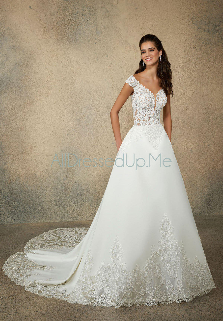 Morilee - Rhoda - 2075 - All Dressed Up, Bridal Gown - Morilee - - Wedding Gowns Dresses Chattanooga Hixson Shops Boutiques Tennessee TN Georgia GA MSRP Lowest Prices Sale Discount