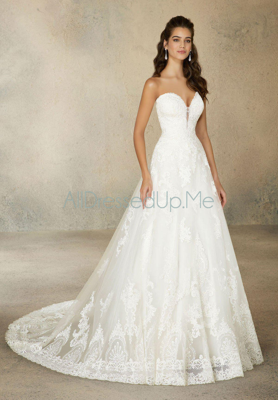 Morilee - Rosabel - 2076 - All Dressed Up, Bridal Gown - Morilee - - Wedding Gowns Dresses Chattanooga Hixson Shops Boutiques Tennessee TN Georgia GA MSRP Lowest Prices Sale Discount