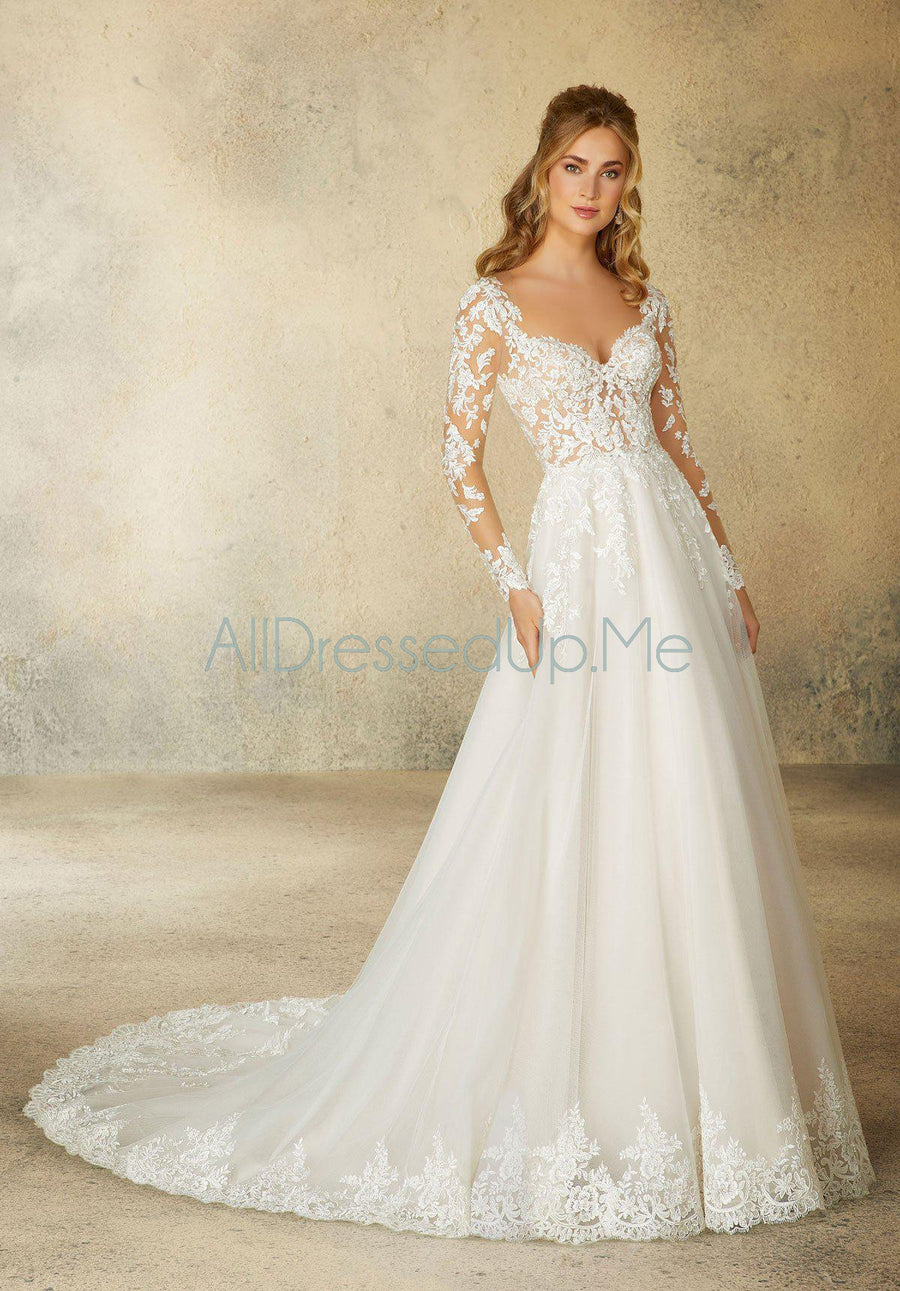 Morilee - Reagan - 2078 - All Dressed Up, Bridal Gown - Morilee - - Wedding Gowns Dresses Chattanooga Hixson Shops Boutiques Tennessee TN Georgia GA MSRP Lowest Prices Sale Discount