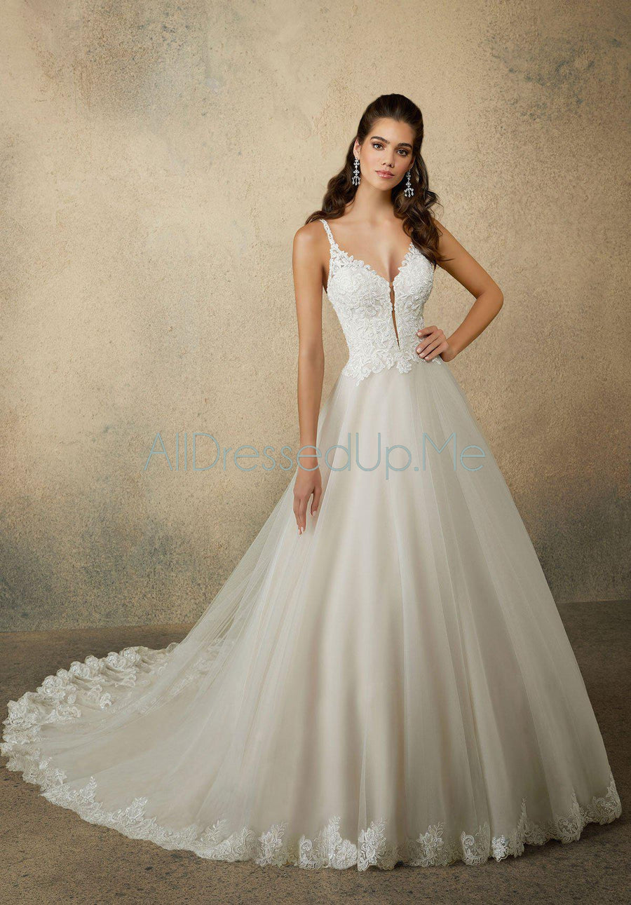 Morilee - Reba - 2080 - All Dressed Up, Bridal Gown - Morilee - - Wedding Gowns Dresses Chattanooga Hixson Shops Boutiques Tennessee TN Georgia GA MSRP Lowest Prices Sale Discount