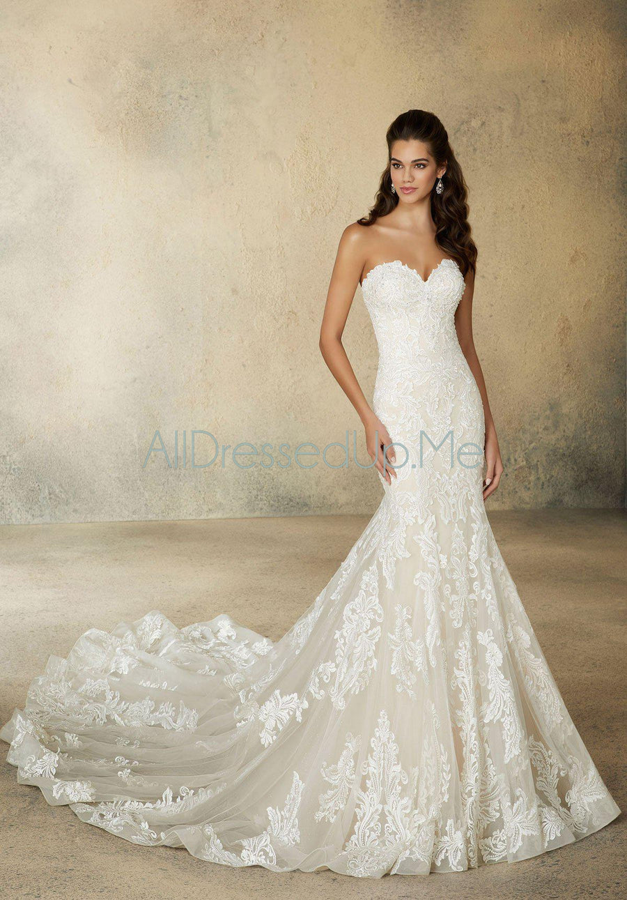 Morilee - Rochelle - 2081 - All Dressed Up, Bridal Gown - Morilee - - Wedding Gowns Dresses Chattanooga Hixson Shops Boutiques Tennessee TN Georgia GA MSRP Lowest Prices Sale Discount
