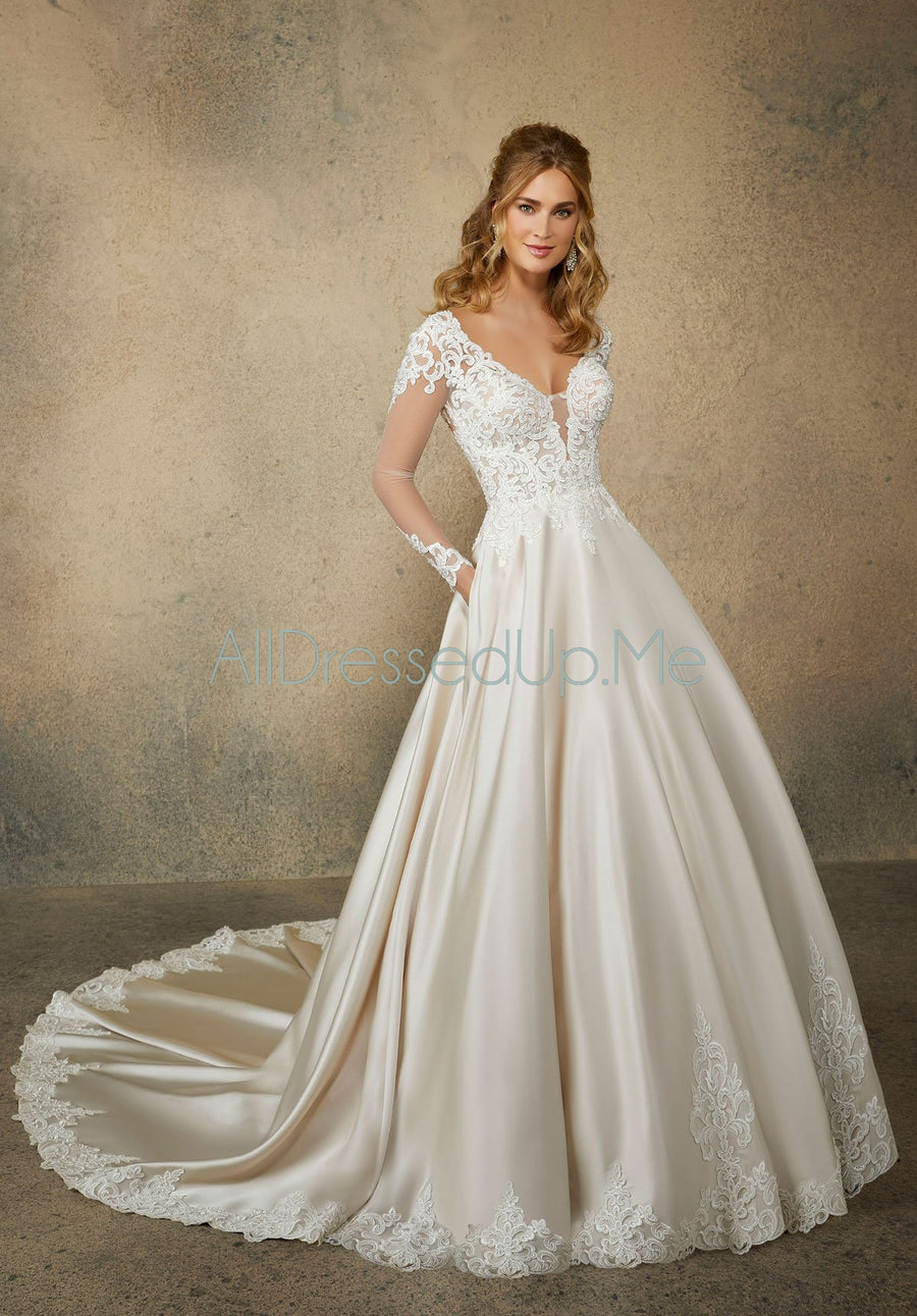 Morilee - Reina - 2082 - All Dressed Up, Bridal Gown - Morilee - - Wedding Gowns Dresses Chattanooga Hixson Shops Boutiques Tennessee TN Georgia GA MSRP Lowest Prices Sale Discount