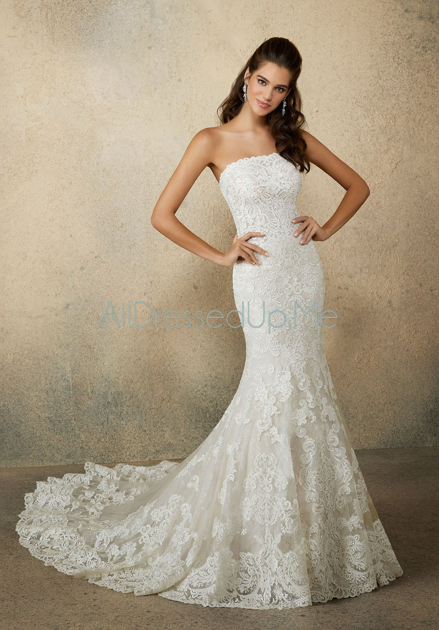 Morilee - Rumi - 2083 - All Dressed Up, Bridal Gown - Morilee - - Wedding Gowns Dresses Chattanooga Hixson Shops Boutiques Tennessee TN Georgia GA MSRP Lowest Prices Sale Discount