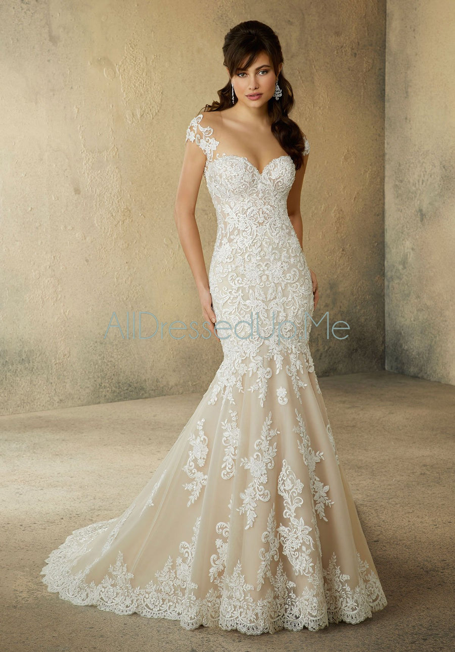 Morilee - Rosamund - 2084 - All Dressed Up, Bridal Gown - Morilee - - Wedding Gowns Dresses Chattanooga Hixson Shops Boutiques Tennessee TN Georgia GA MSRP Lowest Prices Sale Discount