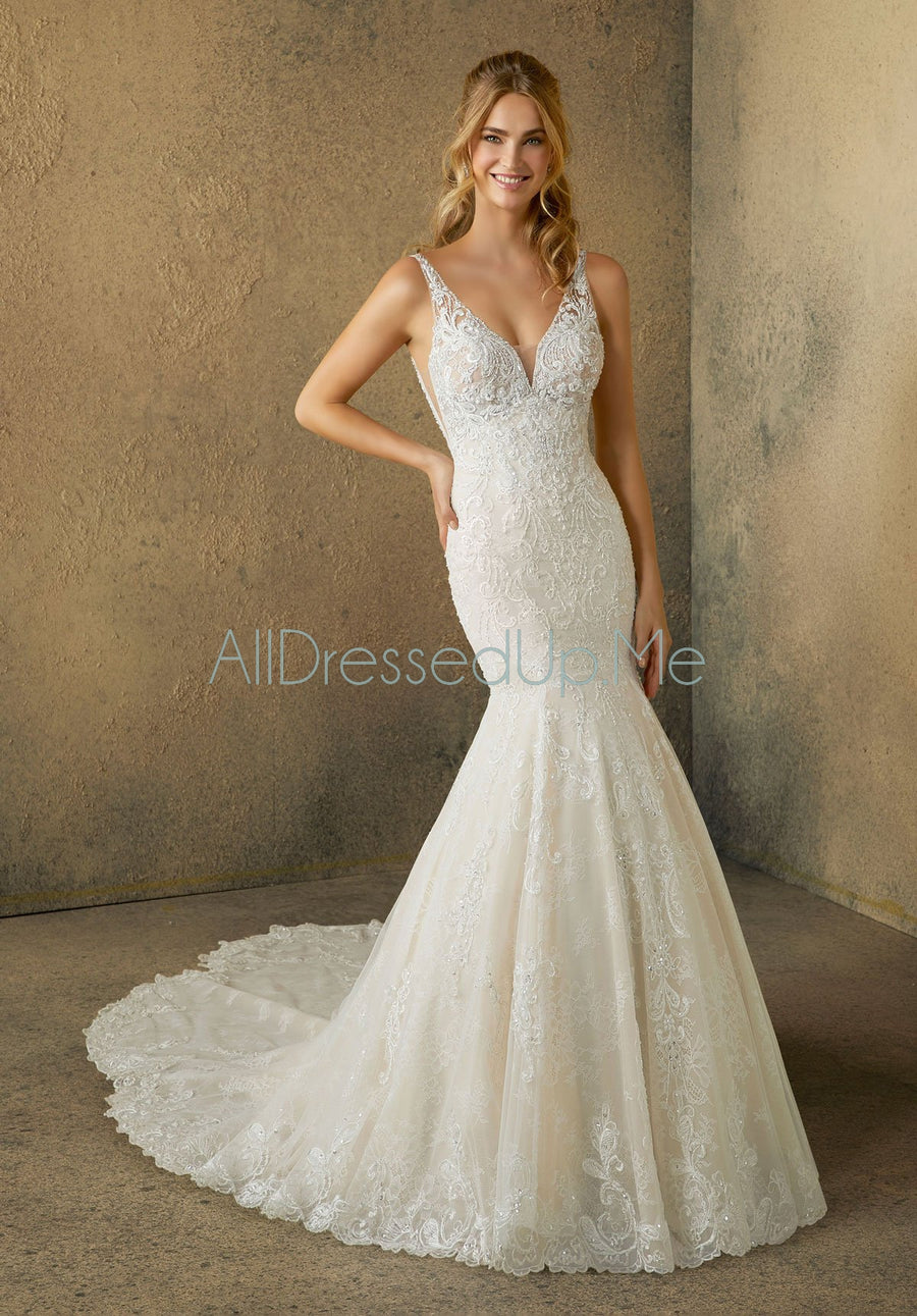 Morilee - Rashida - 2086 - All Dressed Up, Bridal Gown - Morilee - - Wedding Gowns Dresses Chattanooga Hixson Shops Boutiques Tennessee TN Georgia GA MSRP Lowest Prices Sale Discount