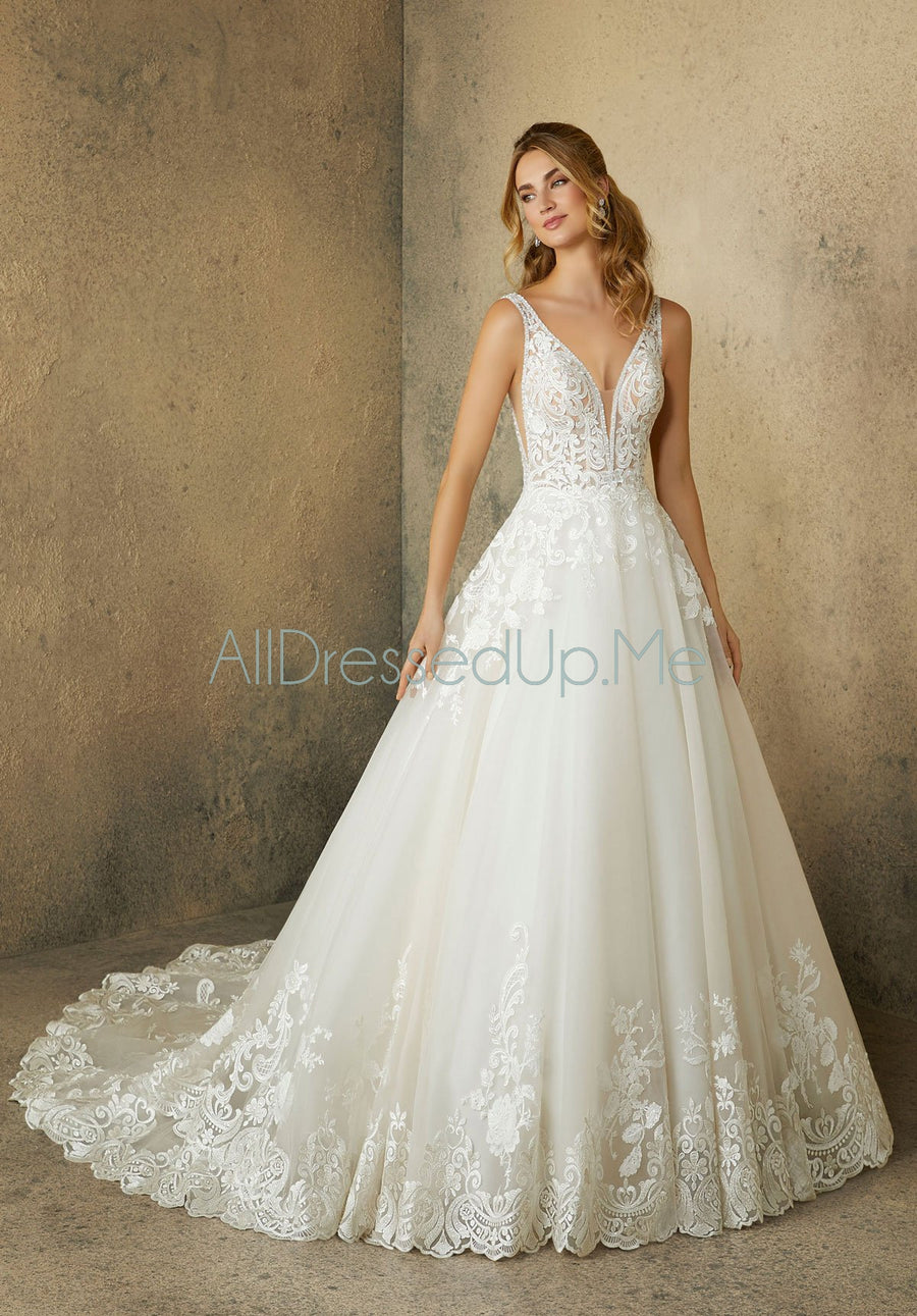 Morilee - Robin - 2089 - All Dressed Up, Bridal Gown - Morilee - - Wedding Gowns Dresses Chattanooga Hixson Shops Boutiques Tennessee TN Georgia GA MSRP Lowest Prices Sale Discount