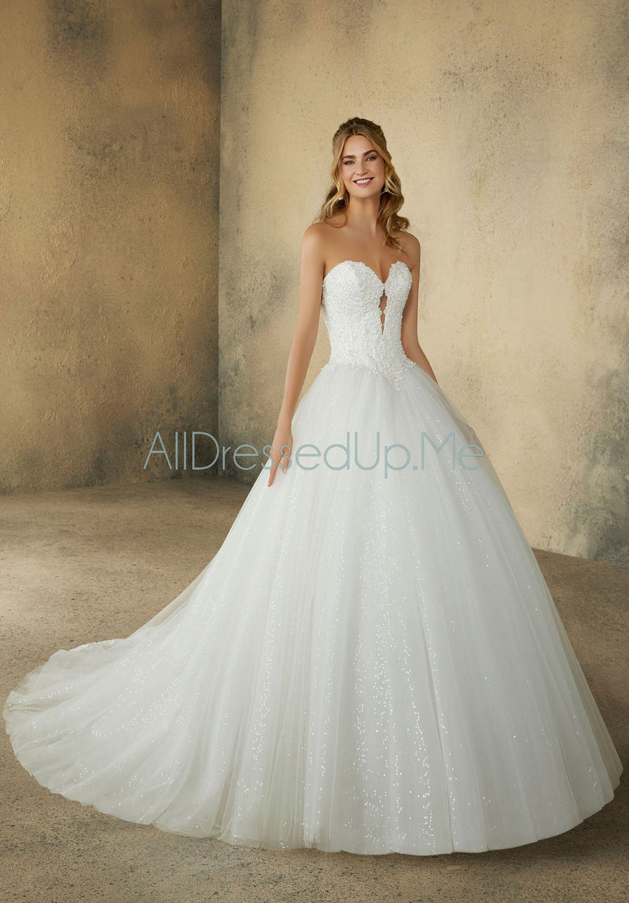 Morilee - Rosalie - 2090 - All Dressed Up, Bridal Gown - Morilee - - Wedding Gowns Dresses Chattanooga Hixson Shops Boutiques Tennessee TN Georgia GA MSRP Lowest Prices Sale Discount