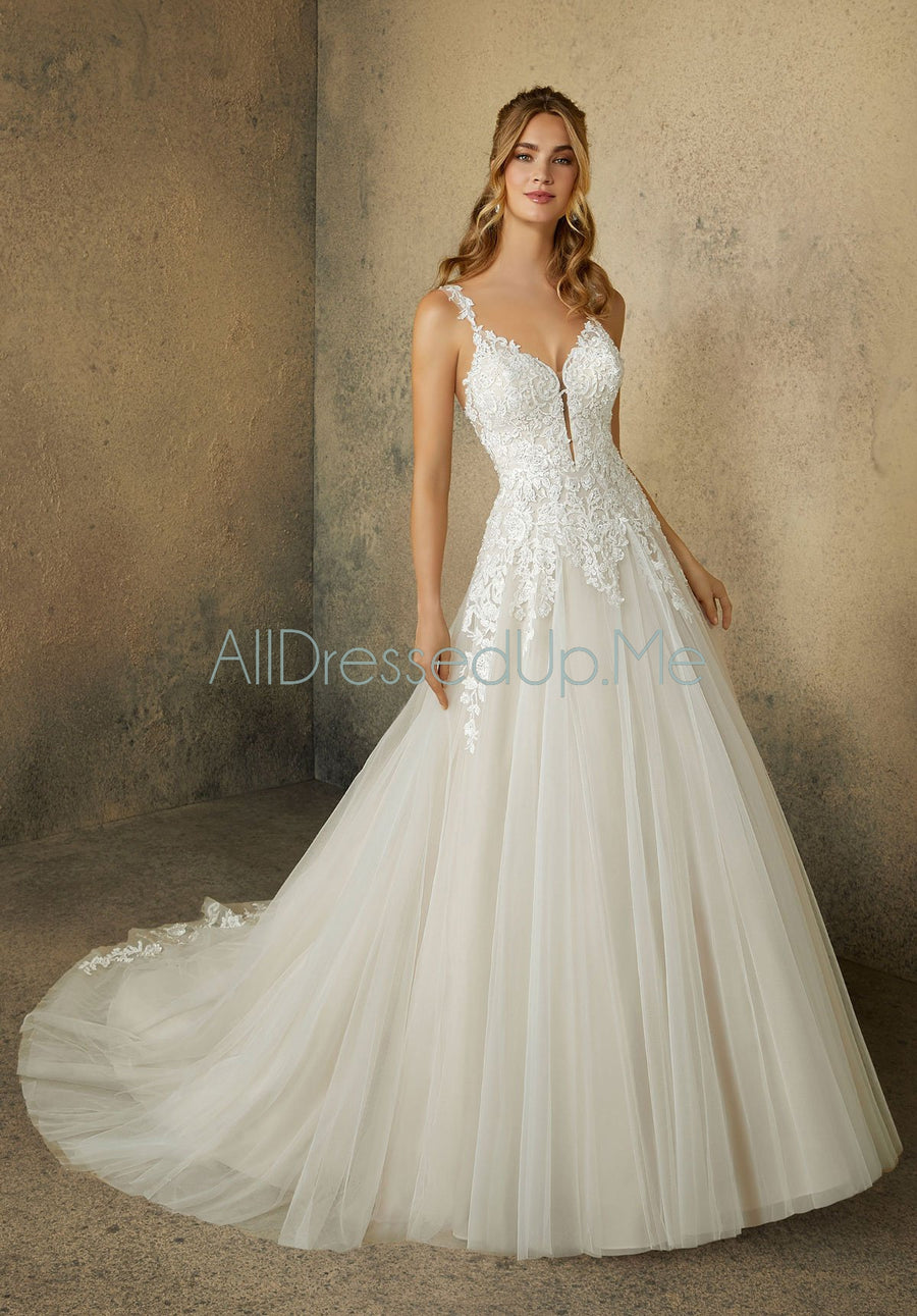 Morilee - Rina - 2092 - All Dressed Up, Bridal Gown - Morilee - - Wedding Gowns Dresses Chattanooga Hixson Shops Boutiques Tennessee TN Georgia GA MSRP Lowest Prices Sale Discount