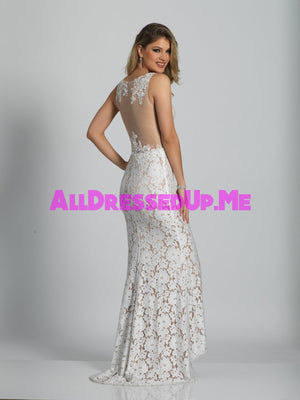 Dave & Johnny - 2109 - All Dressed Up, Prom/Party - - Dresses Two Piece Cut Out Sweetheart Halter Low Back High Neck Print Beaded Chiffon Jersey Fitted Sexy Satin Lace Jeweled Sparkle Shimmer Sleeveless Stunning Gorgeous Modest See Through Transparent Glitter Special Occasions Event Chattanooga Hixson Shops Boutiques Tennessee TN Georgia GA MSRP Lowest Prices Sale Discount