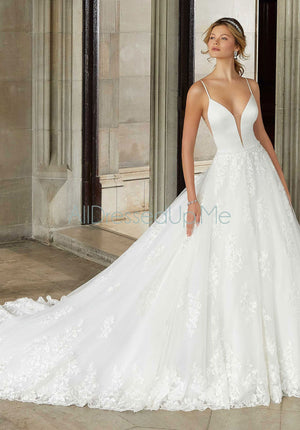 Morilee - Suki - 2125 - 2125W - All Dressed Up, Bridal Gown - Morilee - - Wedding Gowns Dresses Chattanooga Hixson Shops Boutiques Tennessee TN Georgia GA MSRP Lowest Prices Sale Discount